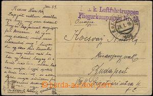 58294 - 1916 K.u.K.. Luftfahrtruppen Fliegerkompagnie No.16, straigh