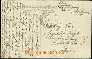 58298 - 1914 S.M.S. ERZHERZOG FRANZ FERDINAND, black circular pmk wi