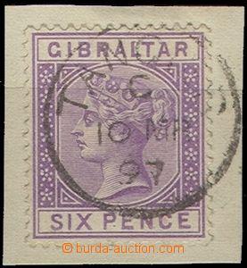 58304 - 1887 Mi.13, DR Tangier 10.MR/97, kat. 150€