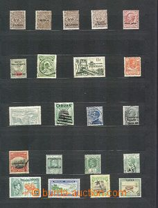 58309 - 1910-30 WHOLE WORLD  selection of 21 pcs of stamps from vari