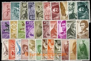58371 - 1954-70 COLONIES  comp. of stamps Spanish colonies (Sahara,
