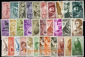 58371 - 1954-70 COLONIES  sestava známek španělských kolonií (S