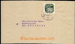 58387 - 1939 whole newspaper wrapper with 20h issue I, Pof.NV7, CDS