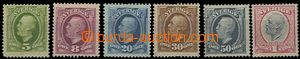 58486 - 1891 Mi.41, 42, 45-49, ojedinělá nabídka, kat. cca 300€