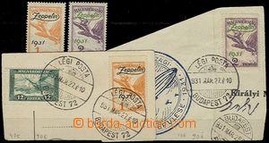 58487 - 1931 Mi.478-79 letecké, 2 série, 1x svěží a 1x na výst