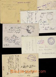 58519 - 1918 Hotově  sestava 6ks pohlednic s vyplacením v hotovost