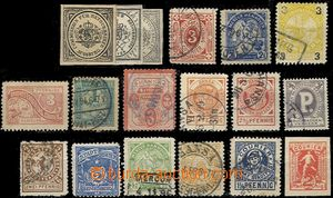 58531 - 1890-1910 selection of 18 pcs of stamp. private post, any ot