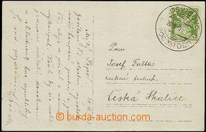 58556 - 1923 pohlednice vyfr. zn. 50h OR, DR Rosvigovo 20.VII.23, hl
