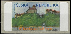 58567 - 2000 Pof.AT1 Veveří (castle), 13CZK, without *, variant I.
