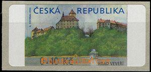 58569 - 2000 Pof.AT1 Veveří (castle), 40hal.,  without *, I. varia