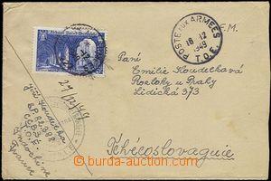 58615 - 1949 INDO-CHINA  dopis od příslušníka francouzské cizin