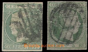 58686 - 1852-53 Mi.16 + Mi.20, standard margins