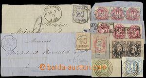 58719 - 1851-71 Sachsen (Saxonia), Hannover, North German Bund, Thur