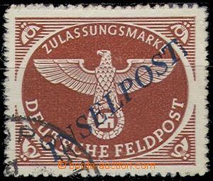 58759 - 1944 Mi.10b II B, Inselpost Agramer Aufdruck (overprint) in