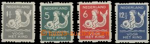 58791 - 1929 Mi.229-32C For Children-issue, mint never hinged, c.v..