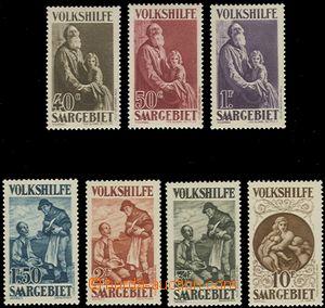 58816 - 1928 Mi.128-134 People's Aid I., mint never hinged, c.v.. 11