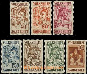 58823 - 1931 Mi.144-150 People's Aid III., mint never hinged, c.v..