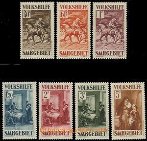 58826 - 1931 Mi.151-157 People's Aid IV., mint never hinged, c.v.. 7