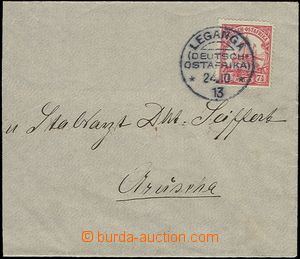 58903 - 1913 GERMAN EAST AFRICA  letter with Mi.32 with CDS Leganga
