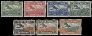 58912 - 1925 Mi.126-132 Airmail, hinged, catalogue value for MNH 75�