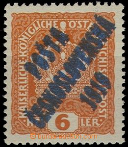 59009 -  Pof.35PD, double overprint