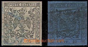 59038 - 1852 Mi.4, 5, kat. 130€