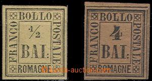 59043 - 1859 Mi.1, gum hinged, Mi.5 without gum, c.v.. 200€
