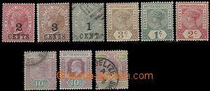 59053 - 1888-1913 Mi.21, 22, 27 ražená, 33, 31, 32, 45 ražená, 59, 7