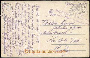 59058 - 1918 Sokol company district podkrkonošské  line military u