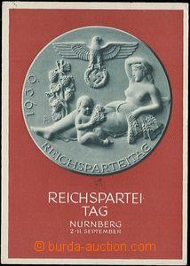 59120 - 1939 Reichsparteitag der NSDAP, 1939, Nürnberg; VF, prošlá,