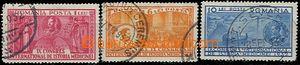 59136 - 1932 Mi.443-45 Lékařský congress, rest of hinge, otherwis