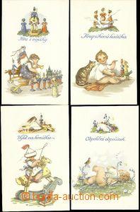 59141 - 1930 FISCHEROVÁ-KVĚCHOVÁ Mary (1894–1984), Daily life toddle