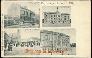 59157 - 1906 Kralupy nad Vltavou - 4okénková, Městská spořiteln