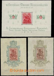 59164 - 1938-41 Mi. Bl.2, 5, 6, 7, 8, 9, sestava 6ks aršíků, pěk