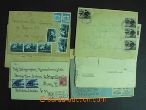59184 - 1940-44 BULGARIA  comp. 10 pcs of mainly commercial letters