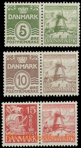 59195 - 1937 Mi.W5 (198I.b/234), W6 (233I./235) a W7 (202III./236),