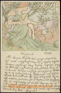 59200 - 1900 MUCHA Alfons (1860–1939), Champenois, Serie 1, The Ag