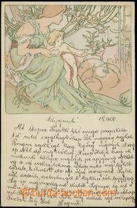 59200 - 1900 MUCHA Alfons (1860–1939), Champenois, Série 1, Etapy