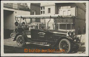 59211 - 1920 hasičská stříkačka dobrovolných hasičů z Českých Budějo