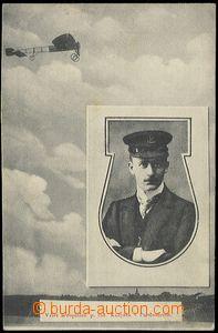 59217 - 1910 vzlet aeroplánu inž. Kašpara v Pardubicích; nepouž