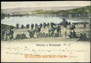 59258 - 1907 manévry rakouské armády (Brzeżany, ukr. Б