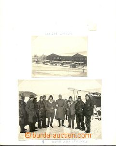 59260 - 1914-17 comp. 9 pcs of photos from estate after/around pilot