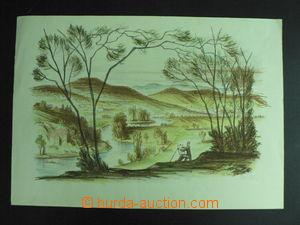 59366 - 1950? DILLINGER Petr  (1894-1954), malíř v krajině s řek