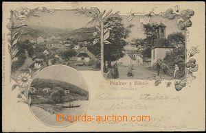 59433 - 1899 Bílovice nad Svitavou - 3-záběrová koláž, celkov�