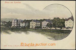 59434 - 1900 Chomutov (Komotau) - picture collage, view of new villa