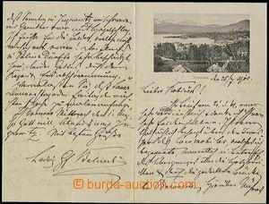 59512 - 1900 BELCREDI, Graf Ludwig, vzor pohlednice Gmunden (ÖO), 4
