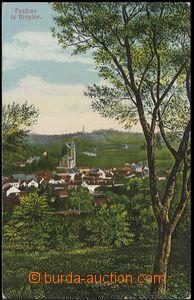 59518 - 1919 Krapina -  pohled na město, prošlé s útvarovým raz