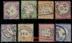 59539 - 1872 Mi. 1-6, 9, 10; kat. cca 500€