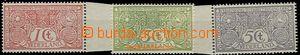 59547 - 1906 Mi.69-71, c.v.. 90€ as *