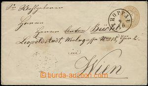 59562 - 1864? celinová obálka Mi.U30, pěkné DR Troppau/ 9/10, horní